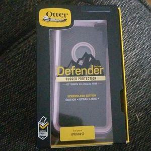 Otter box I phone X